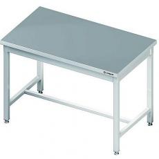 Stół roboczy nierdzewny składany centralny<br />model: 980087120<br />producent: Stalgast