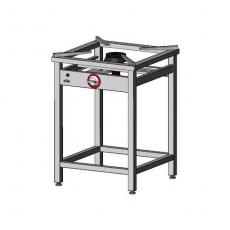 Taboret gastronomiczny gazowy 1-palnikowy | EGAZ TGO-105.II<br />model: TGO-105.II<br />producent: Egaz