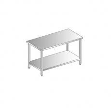 Stanowisko neutralne otwarte z blatem stalowym<br />model: DM-94970-O-S/1400/700<br />producent: Dora Metal