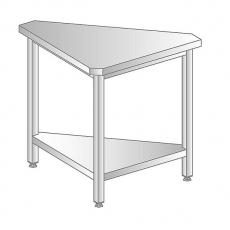 Stanowisko narożne wewnętrzne z blatem stalowym<br />model: DM-94971-O-S<br />producent: Dora Metal