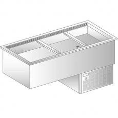 Wanna chłodnicza z wymuszonym obiegiem powietrza<br />model: DM-94932.4<br />producent: Dora Metal