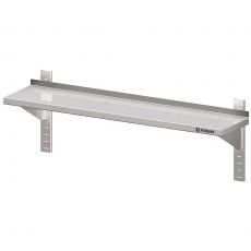 Półka nierdzewna wisząca pojedyncza do montażu<br />model: 981753100<br />producent: Stalgast