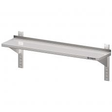 Półka nierdzewna wisząca pojedyncza do montażu<br />model: 981754080<br />producent: Stalgast