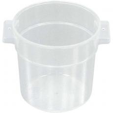Pojemnik na żywność okrągły<br />model: 067101<br />producent: Stalgast