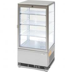 Witryna ekspozycyjna chłodnicza przeszklona<br />model: 852175<br />producent: Stalgast