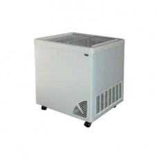 Zamrażarka przeszklona płaska<br />model: ARO-200/1<br />producent: Byfal
