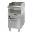 Płyta grillowa gazowa | KROMET 700.PBG-400G-C - 700.PBG-400G-C