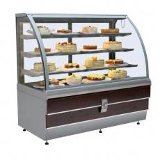 Witryna chłodnicza cukiernicza CARINA LCC 02 1.4 H<br />model: LCC 02 1.4 H<br />producent: Es System K