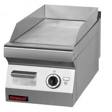 Płyta grillowa elektryczna | KROMET 700.PBE-400R-C<br />model: 700.PBE-400R-C.A<br />producent: Kromet