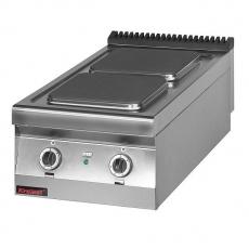 Kuchnia gastronomiczna elektryczna 2-płytowa | KROMET 900.KE-2<br />model: 900.KE-2<br />producent: Kromet