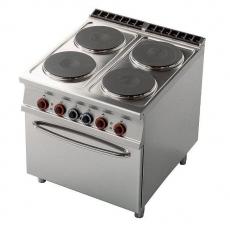 Kuchnia gastronomiczna elektryczna 4-płytowa z  CF4-98ET<br />model: 00001023<br />producent: Lotus