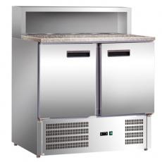 Stół chłodniczy do pizzy 2-drzwiowy<br />model: 843029<br />producent: Stalgast