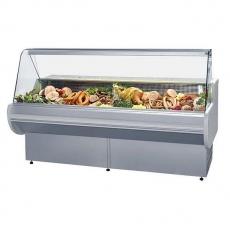 Lada chłodnicza z szybą giętą - dł. 120cm LCG GEMINI 1.2<br />model: LCG GEMINI 1.2<br />producent: Es System K