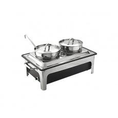 Podgrzewacz stołowy elektryczny z kociołkami<br />model: 433241<br />producent: Sunnex