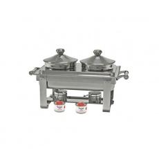 Podgrzewacz stołowy z kociołkami<br />model: 433240<br />producent: Stalgast