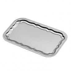 Taca stalowa do serwowania prostokątna<br />model: 496107<br />producent: Hendi