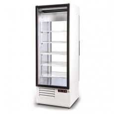Szafa chłodnicza przeszklona przelotowa<br />model: SCh-2S 625<br />producent: Rapa
