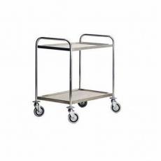 Wózek kelnerski nierdzewny 2-półkowy CR-082<br />model: 00001870<br />producent: RM Gastro