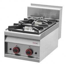 Kuchnia gastronomiczna gazowa  2-palnikowa PC-4G<br />model: 00000753<br />producent: Redfox
