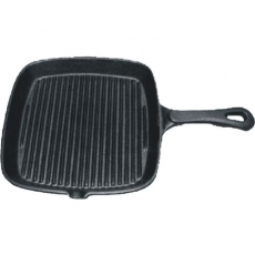 Patelnia żeliwna grillowa kwadratowa<br />model: RB-152300<br />producent: Tom-Gast