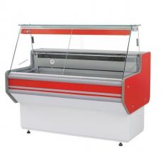 Lada chłodnicza z szybą prostą<br />model: L-A1/137/82<br />producent: Rapa