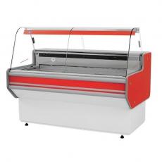 Lada chłodnicza z szybą giętą<br />model: L-B1/152/90<br />producent: Rapa
