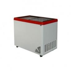 Zamrażarka przeszklona płaska<br />model: ARO-300/1<br />producent: Byfal