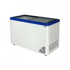 Zamrażarka przeszklona płaska<br />model: ARO-400/1<br />producent: Byfal