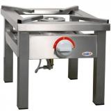 Taboret gastronomiczny gazowy 1-palnikowy TGOM-107 TGOM-107