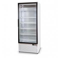 Szafa chłodnicza przeszklona przyścienna<br />model: SCh-S 625 NZ/W<br />producent: Rapa
