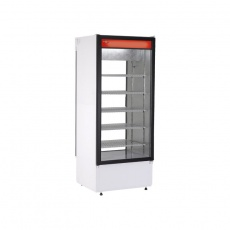 Szafa chłodnicza przeszklona przelotowa<br />model: 4kl.SCh-2S 725<br />producent: Rapa