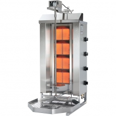 Gyros (kebab) gazowy - do 70 kg | POTIS GD-4<br />model: POTIS GD-4<br />producent: Potis