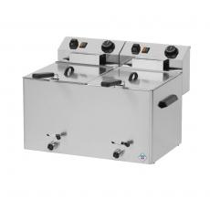 Frytownica elektryczna 2-komorowa z kranem FE-77VT<br />model: 00000233<br />producent: Redfox