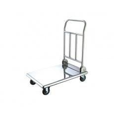 Wózek platformowy nierdzewny składany<br />model: T-140-05<br />producent: Tom-Gast