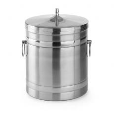 Pojemnik termoizolacyjny do kostek lodu z pokrywką<br />model: 594704<br />producent: Hendi