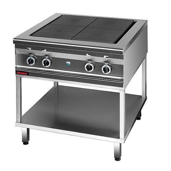 Kuchnia gastronomiczna elektryczna 4 płytowa 000 KEZ 4uT  -> Kuchnia Elektryczna Gastronomiczna Używana