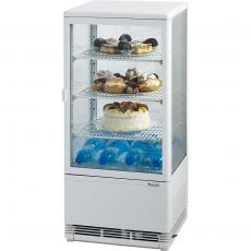 Witryna ekspozycyjna chłodnicza przeszklona<br />model: 852170<br />producent: Stalgast