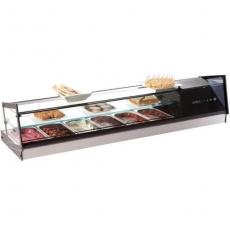 Witryna ekspozycyjna chłodnicza 6xGN1/3<br />model: VCB6<br />producent: Sayl