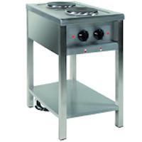 Kuchnia gastronomiczna elektryczna 2-płytowa | EGAZ KE-27<br />model: KE-27<br />producent: Egaz