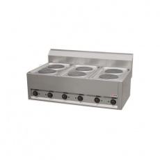 Kuchnia gastronomiczna elektryczna 2-płytowa PC-4ET<br />model: 00000713<br />producent: Redfox