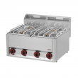 Kuchnia gastronomiczna gazowa 4-palnikowa  SP 60 GLS