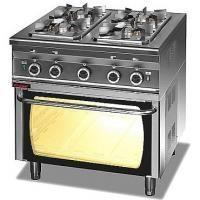 Kuchnia gastronomiczna gazowa 4-palnikowa z piekarnikiem gaz.   KROMET 000.KG-4s/PG-2<br />model: 000.KG-4s/PG-2<br />producent: Kromet