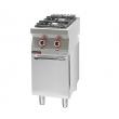 Kuchnia gastronomiczna gazowa 2-palnikowa   KROMET 700.KG-2 - 700.KG-2