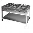 Kuchnia gastronomiczna gazowa 6-palnikowa 000.KG-6L