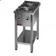 Kuchnia gastronomiczna gazowa 2-palnikowa 000.KG-2M