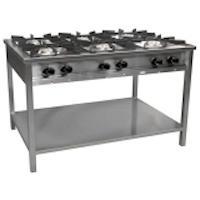 Kuchnia gastronomiczna gazowa 6-palnikowa | EGAZ TG-632.III<br />model: TG-632.III<br />producent: Egaz
