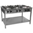 Kuchnia gastronomiczna gazowa 6-palnikowa | EGAZ TG-632.III