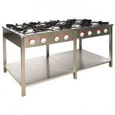 Kuchnia gastronomiczna gazowa 8-palnikowa   EGAZ TG-8740.III<br />model: TG-8740.III<br />producent: Egaz