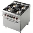 Kuchnia gastronomiczna gazowa 4-palnikowa z piekarnikiem CF4-98G