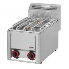 Kuchnia gastronomiczna gazowa 2-palnikowa SP 30 GLS<br />model: 00000497<br />producent: Redfox